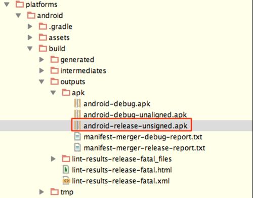Ionic在Android上部署app的步骤