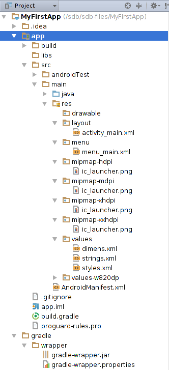 Android Studio(一):Android Studio管理你的项目