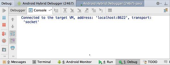 Android Studio(二十一):调试你的应用