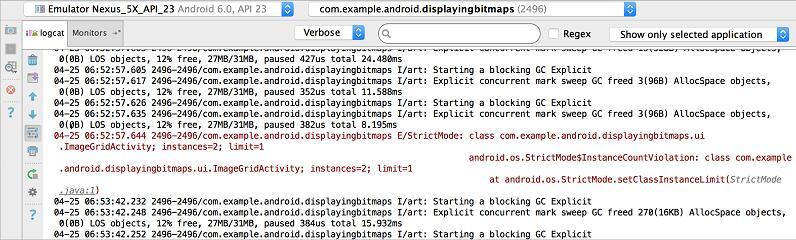 Android Studio(二十二):用Logcat编写和查看日志