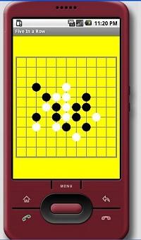 Android五子棋游戏开发