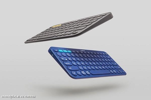一款多设备蓝牙键盘——轻巧便携 漂亮超薄