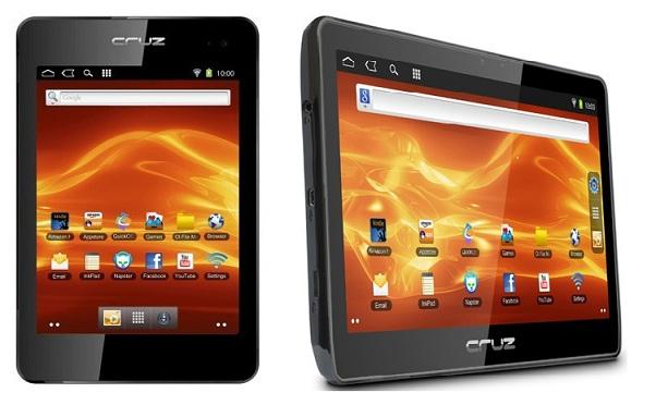 Velocity Micro发布了两款平价平板电脑Cruz T408和Cruz T410