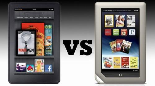 平板电脑Kindle Fire与Nook Tablet的优劣势对比
