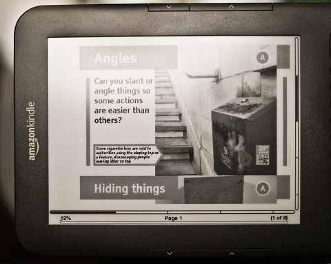 亚马逊Kindle平板电脑 VS iPad