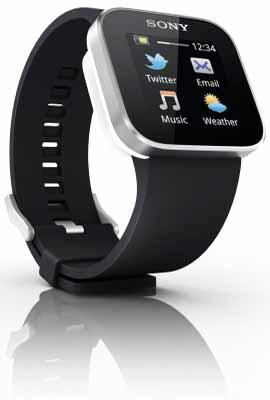 索尼智能手表SmartWatch是Android手机最好的搭档