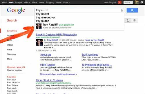 谷歌搜索整合Google+信息,引发质疑