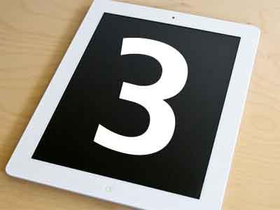 据报道:苹果将发布iPad3和8GB iPad2,三季度开始生产7.85英寸iPad