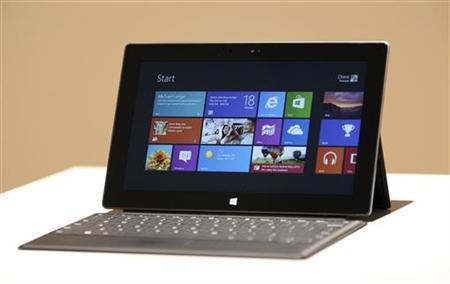 微软Surface平板电脑能否超越iPad