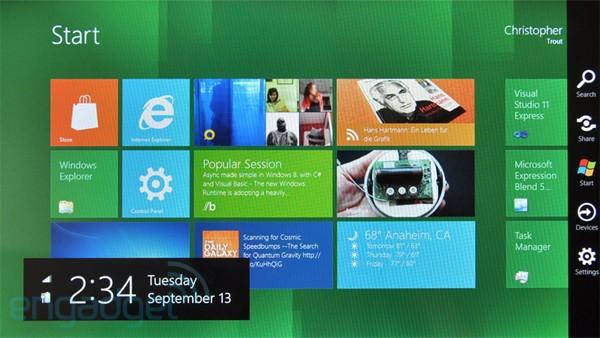 微软发布Windows8系统,Android和苹果要小心了